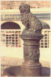 Памятник собаке Бальту
