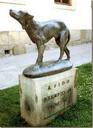 Памятник верному Фидо
